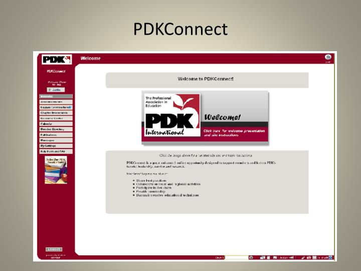 PDKConnect