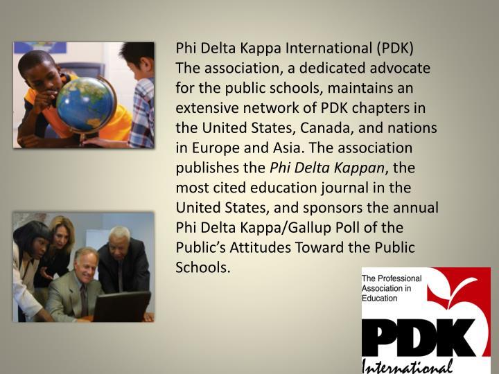 Phi Delta Kappa International (PDK)