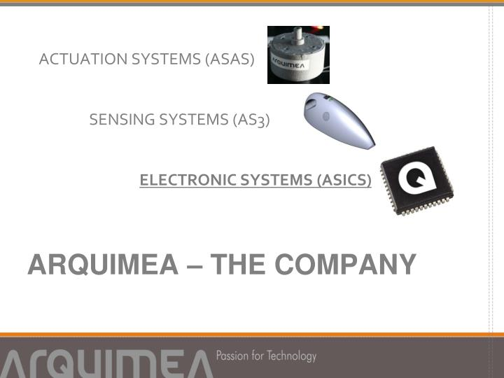 Arquimea the company