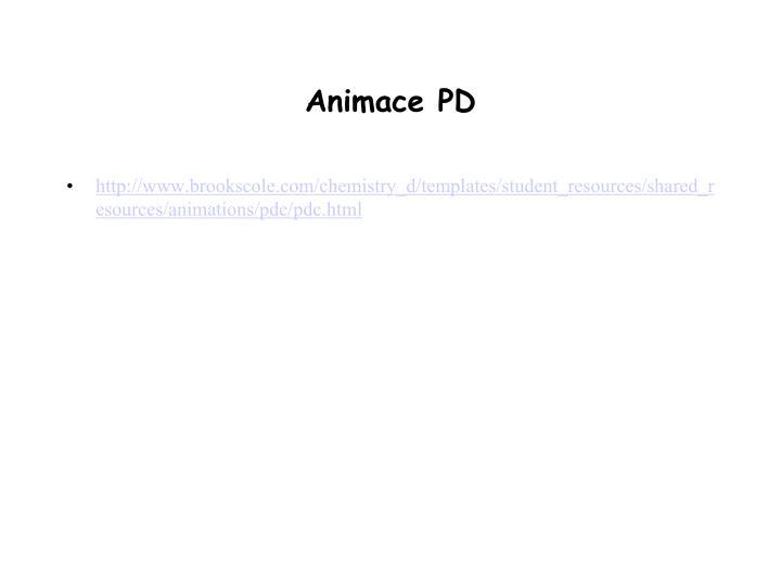 Animace PD