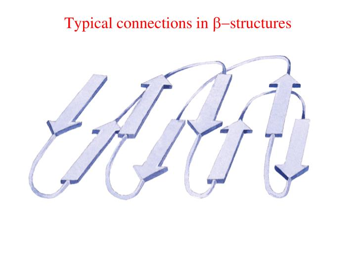 Typical connections in
