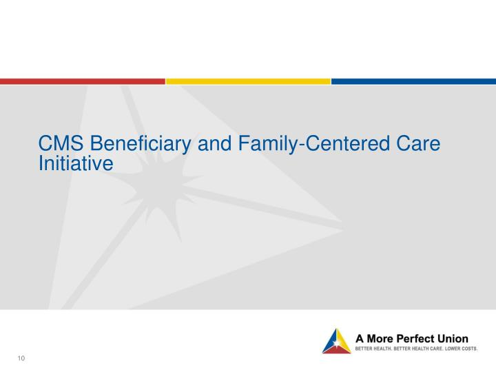 CMS Beneficiary and Family-Centered Care