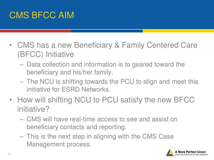 CMS BFCC AIM