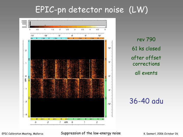 EPIC-pn detector noise  (LW)
