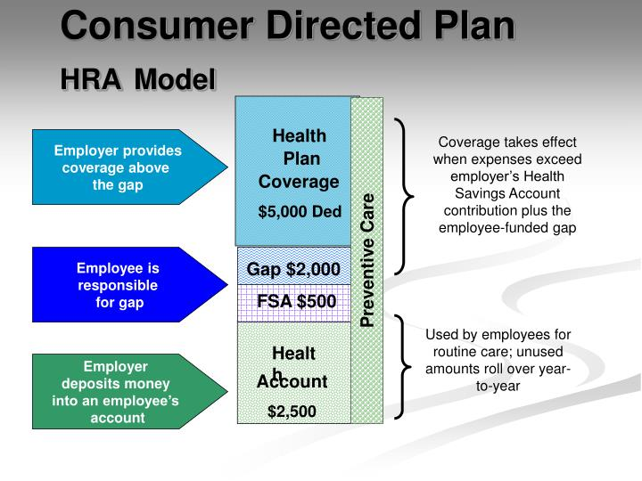 Consumer Directed Plan