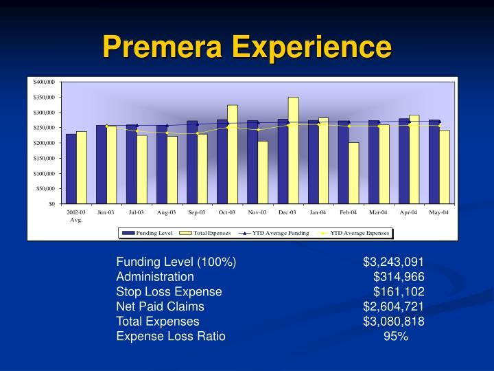 Premera Experience