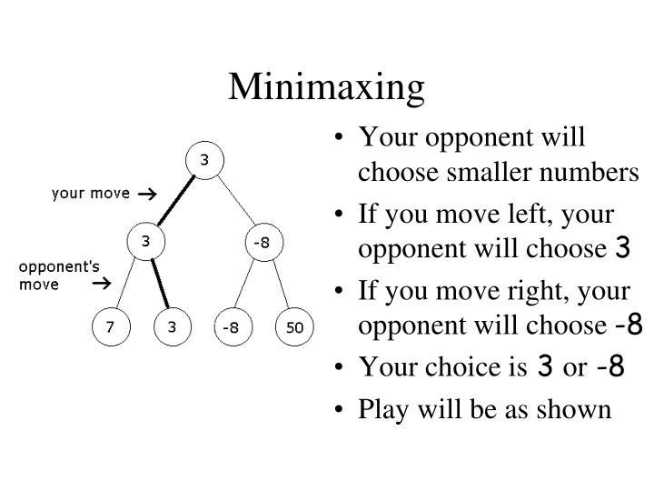 Minimaxing