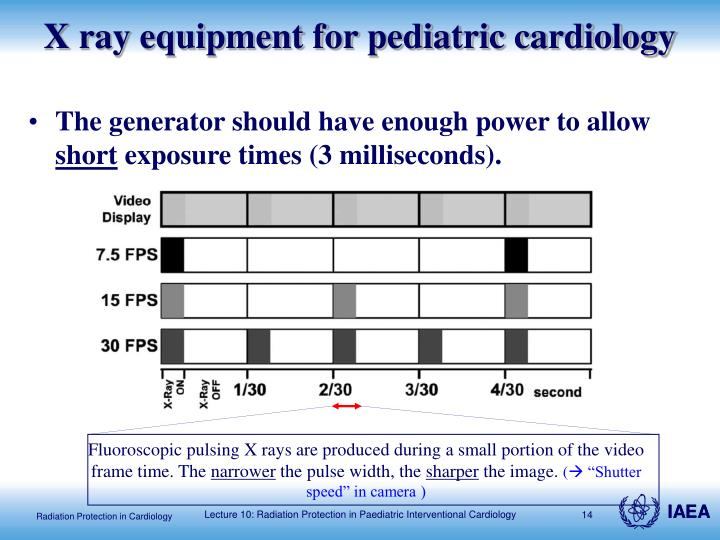 X ray equipment for pediatric cardiology