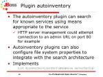 plugin autoinventory