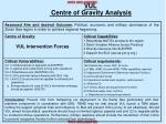 vul centre of gravity analysis