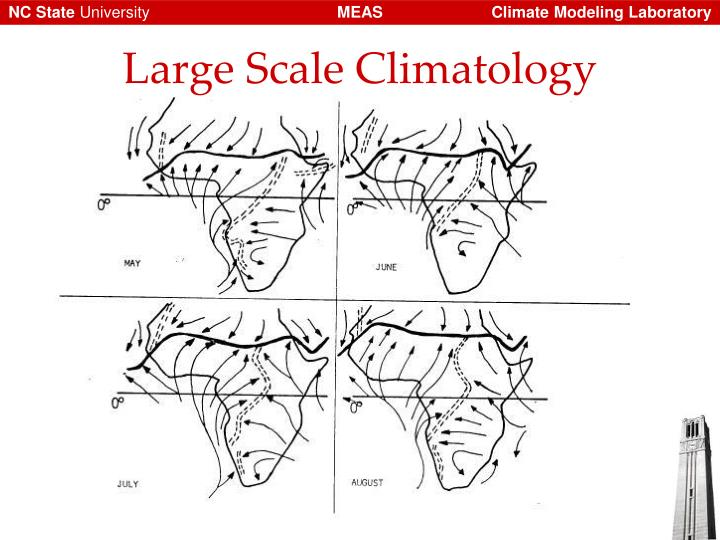 Large Scale Climatology