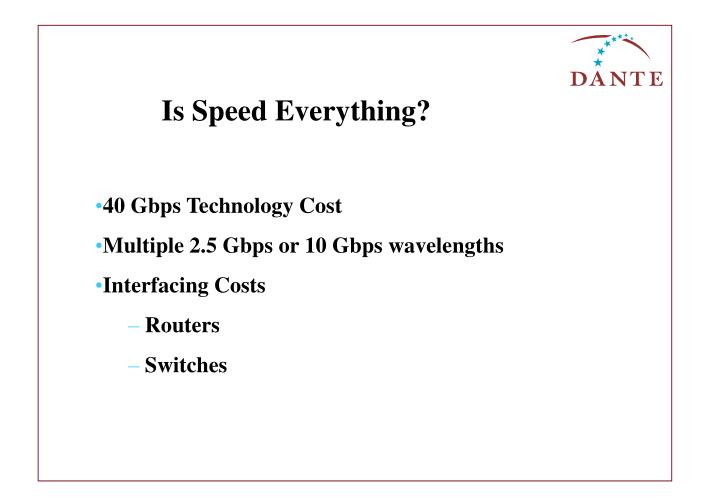 Is Speed Everything?