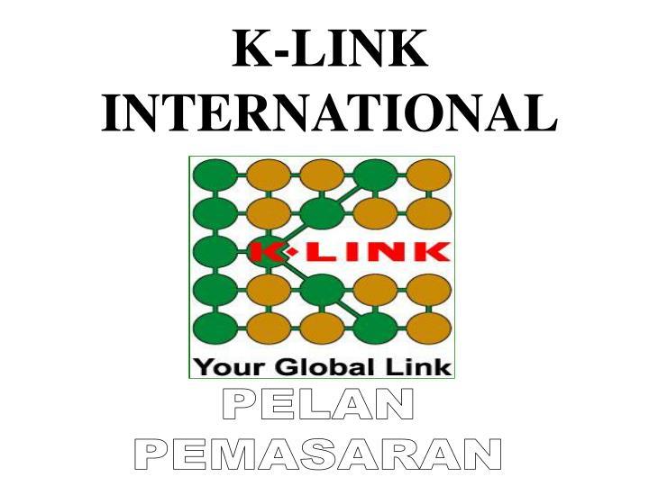 K-LINK INTERNATIONAL