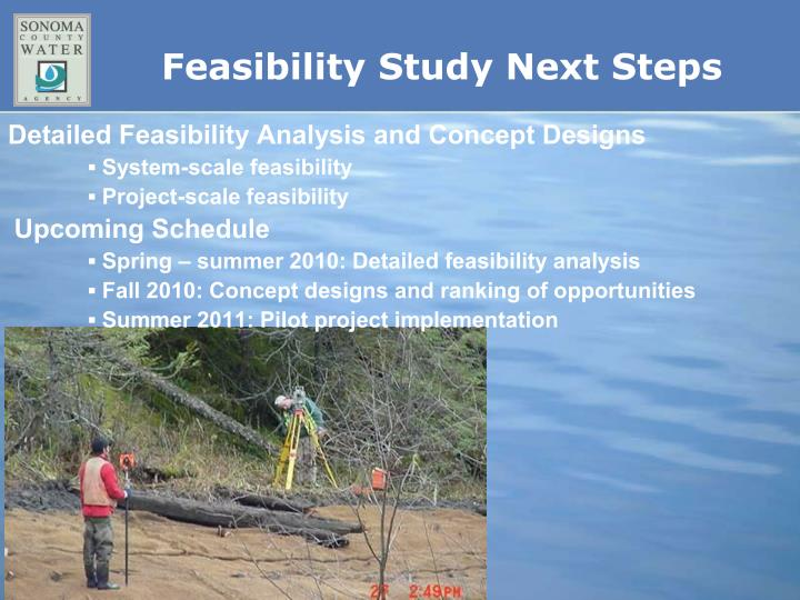 Detailed Feasibility Analysis and Concept Designs