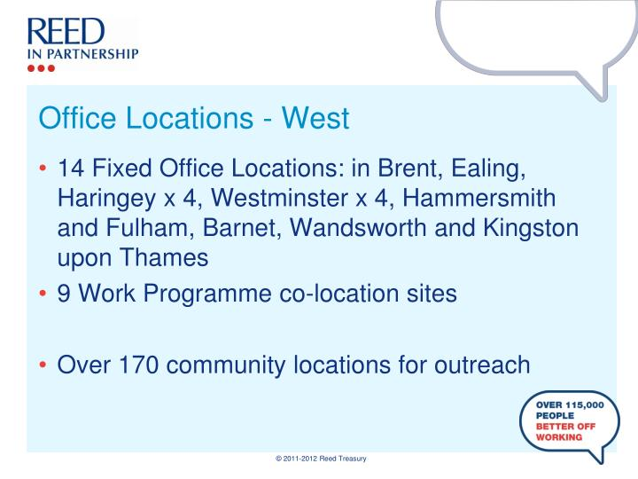 Office Locations - West