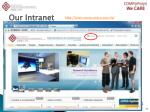 our intranet