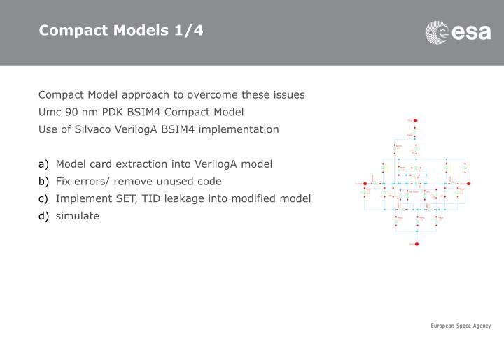 Compact Models 1/4