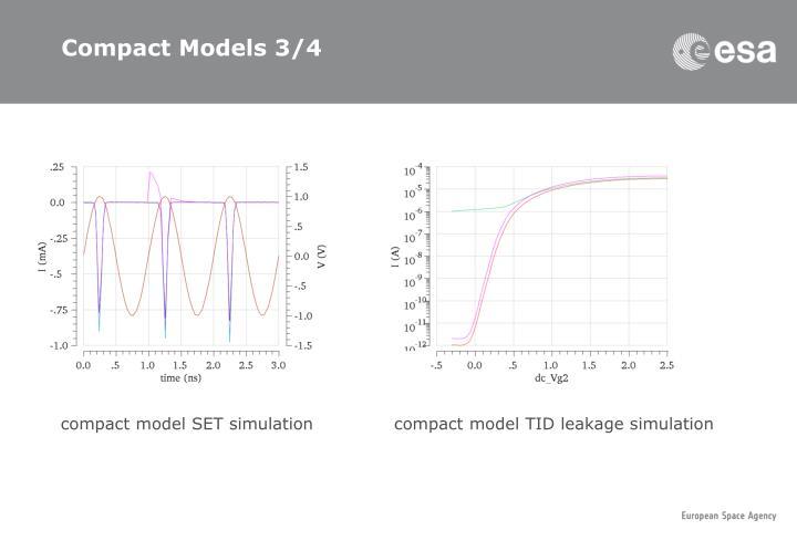 Compact Models 3/4