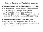 optimal taxation of top labor incomes