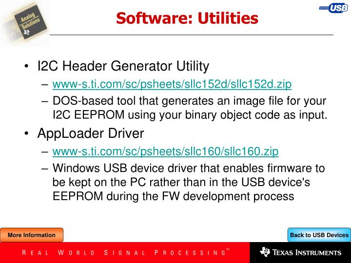 Software: Utilities
