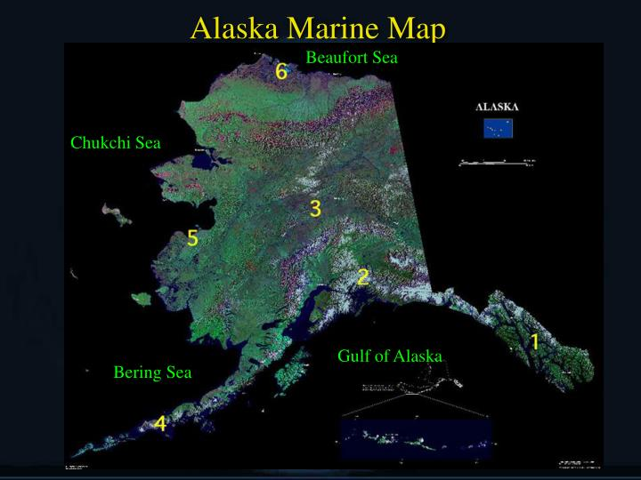 Alaska Marine Map