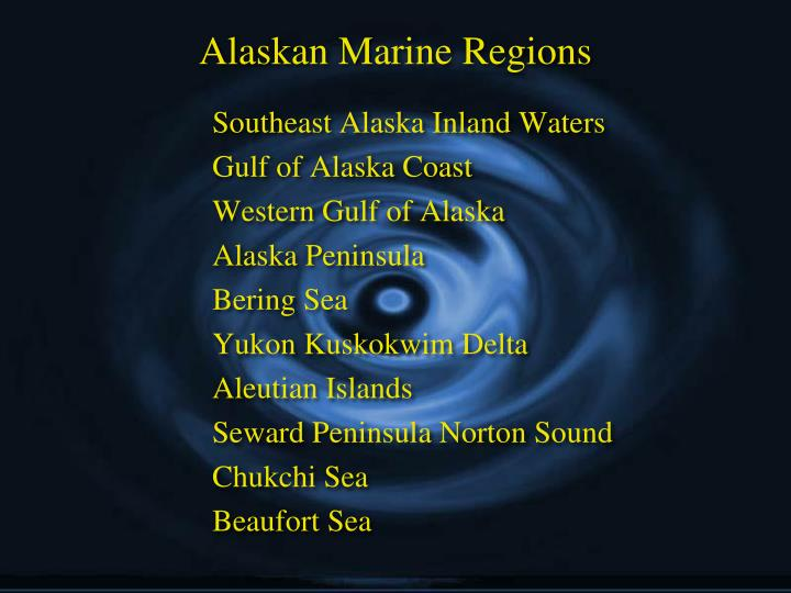 Alaskan Marine Regions