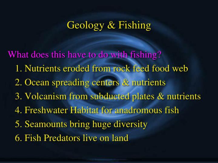 Geology & Fishing