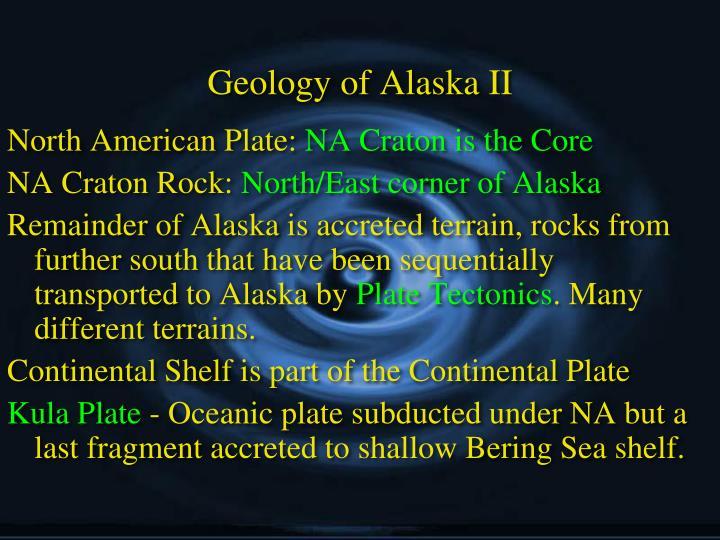 Geology of Alaska II