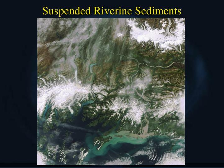 Suspended Riverine Sediments