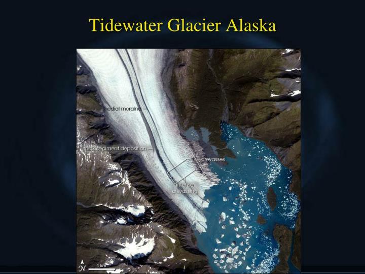 Tidewater Glacier Alaska