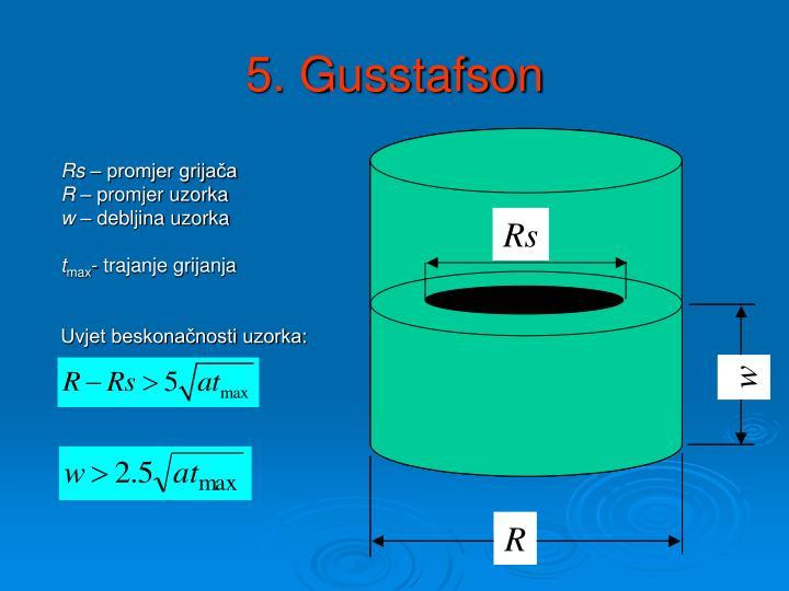 5. Gusstafson