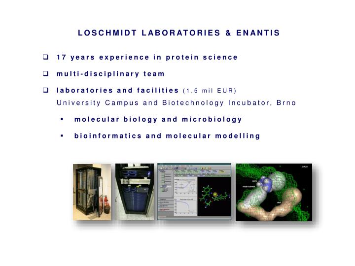 LOSCHMIDT LABORATORIES
