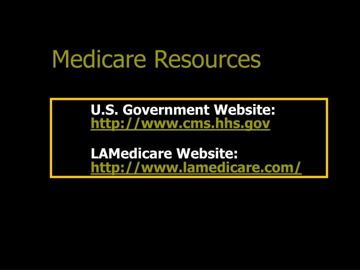 U.S. Government Website: