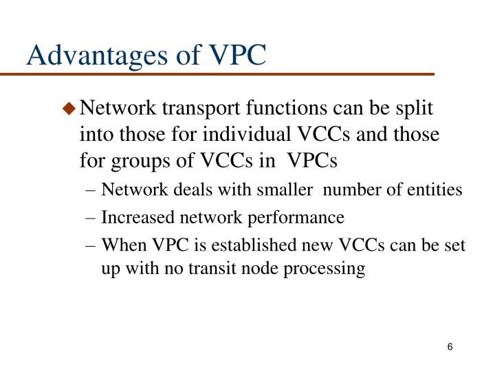 Advantages of VPC