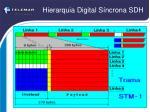 hierarquia digital s ncrona sdh3