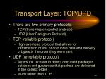 transport layer tcp upd1