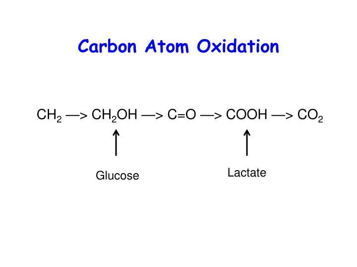 Carbon Atom Oxidation