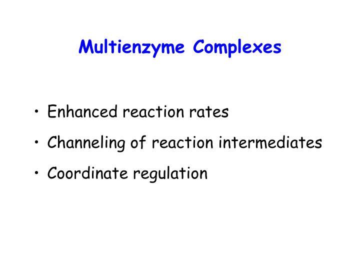 Multienzyme Complexes
