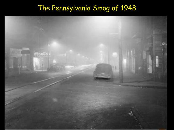 The Pennsylvania Smog of 1948
