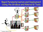 rapid parameterisation and deployment using the gridbus and nimrod g tools