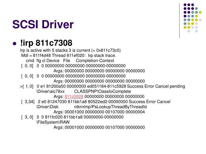 SCSI Driver