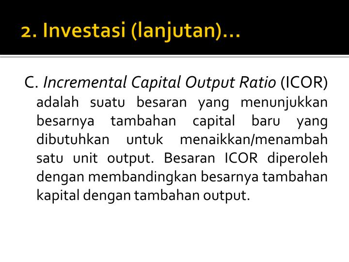 2. Investasi (lanjutan)…