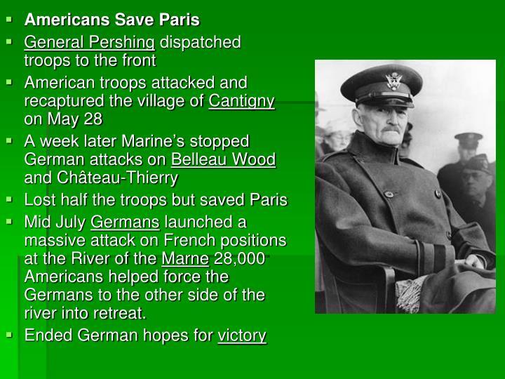 Americans Save Paris