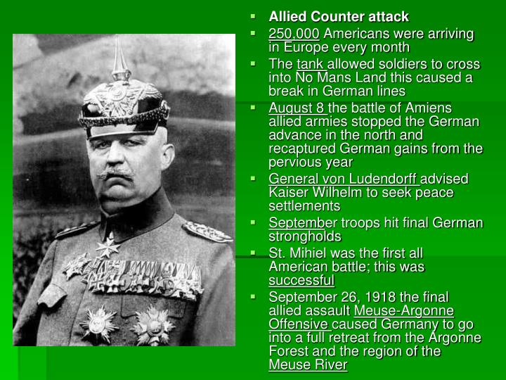 Allied Counter attack