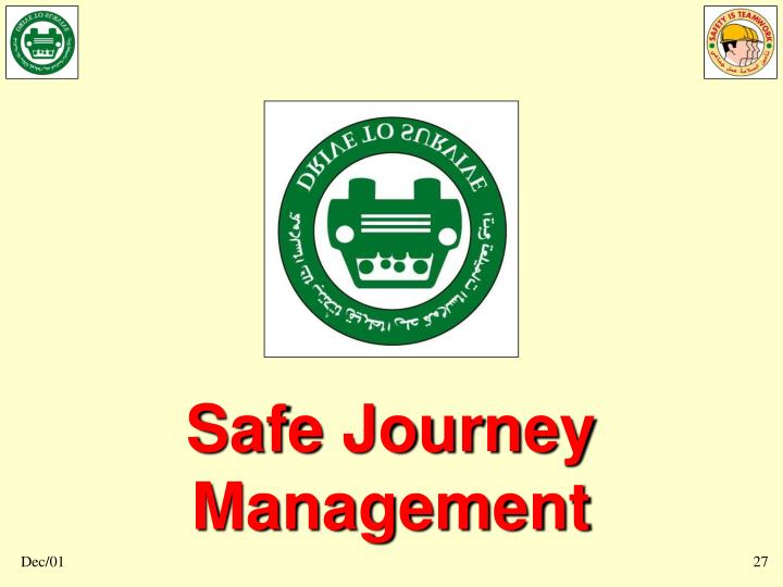Safe Journey Management