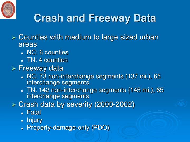 Crash and Freeway Data