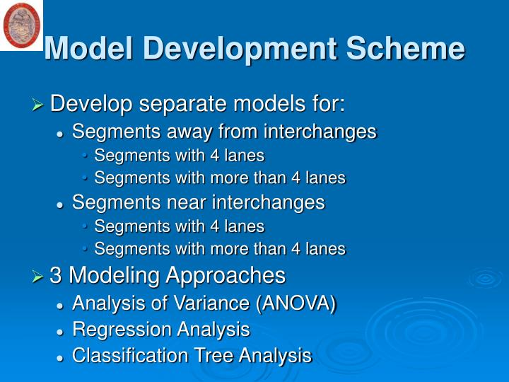 Model Development Scheme
