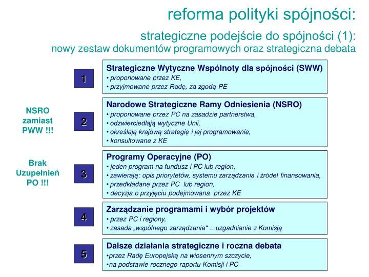 Strategiczne Wytyczne Wspólnoty dla spójności (SWW)