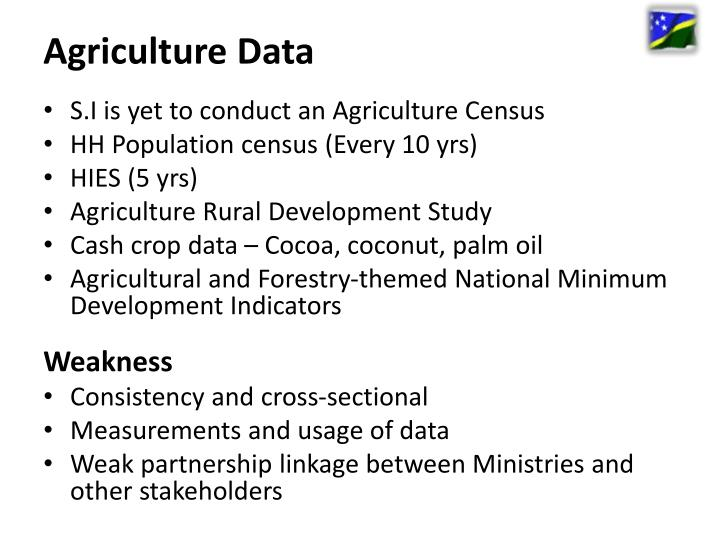 Agriculture Data