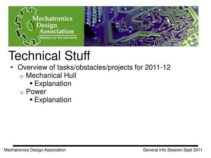 Technical Stuff
